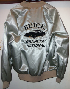 1987 buick grand national satin jacket 1