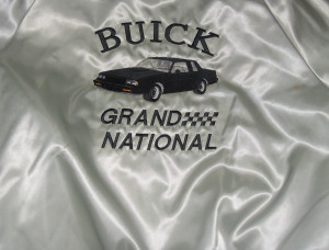 1987 buick grand national satin jacket 3