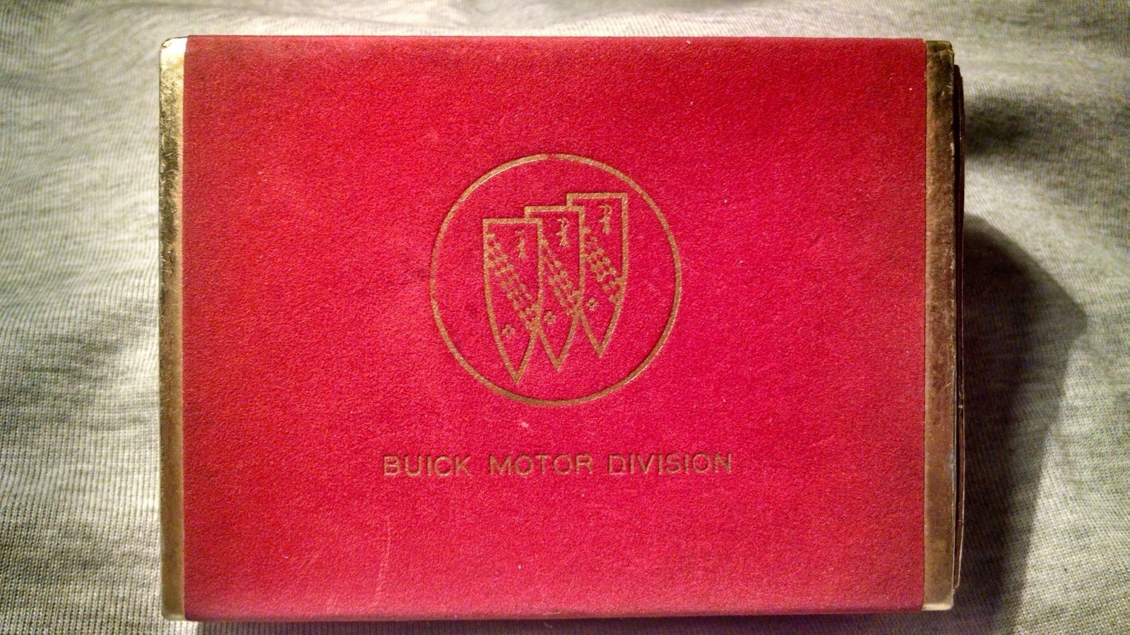 Buick Logo Deck Of Cards Games