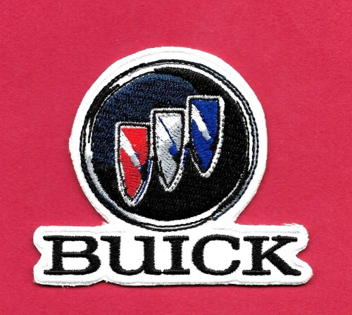 buick crest iron on patch