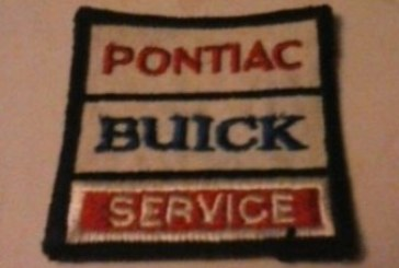 Buick Service Uniform Patch