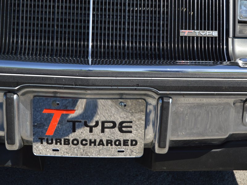 Buick T-Type & Turbo T License Plates