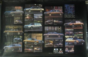 1984 buick dealer showroom poster