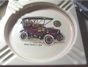 1905 buick ashtray