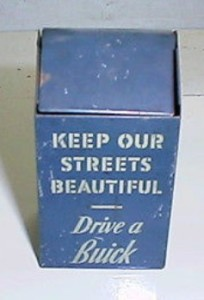 Buick Trash Can Design Ash Tray
