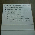 Buick's All -Time Best match book 2
