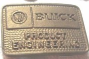 Assorted Buick Belt Buckles