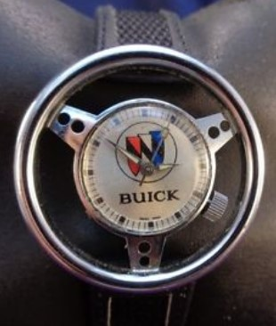 1970s Swiss Rally Steering Wheel Buick Watch