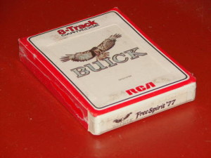 buick 1977 8 track tape