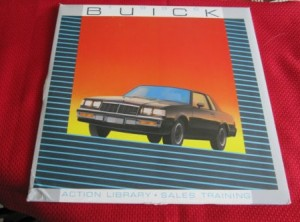 1986 Buick Action Library Sales Training Laser Disc