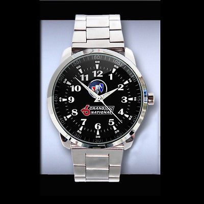 Buick Grand National Logo Metal Sport Watch