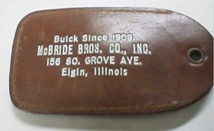 Buick Leather Change Purse McBride Bros