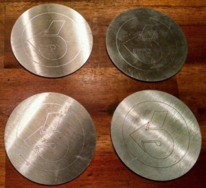Turbo 6 Mug Coasters