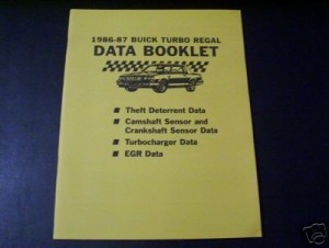buick data troubleshooting book