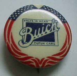 buick motor cars button