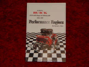 buick performance book
