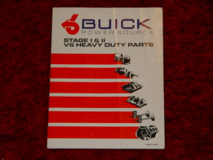 buick v6 power source parts book