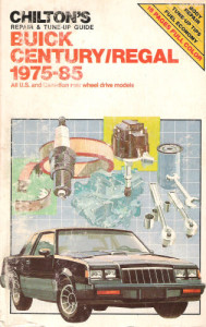 chiltons buick book