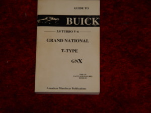 guide to buick grand national book