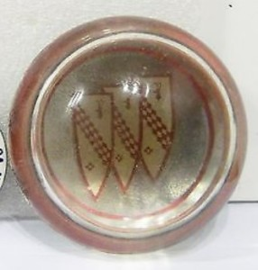 homemade buick logo paper weight