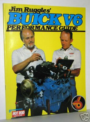 jim ruggles buick v6 engine book yellow blue
