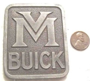 van male buick dealer paperweight 2