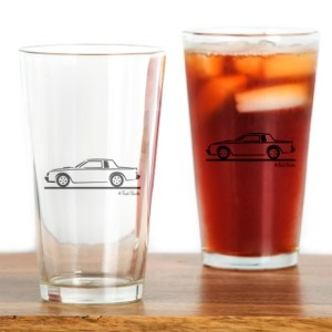 buick grand national drinking glass