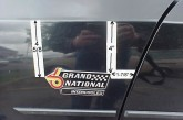 Buick Grand National Emblem Mounting Position