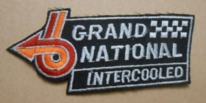 buick grand national logo patch