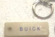 Buick Name Key Rings