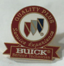 Buick Service Technician Dealer Award Pin