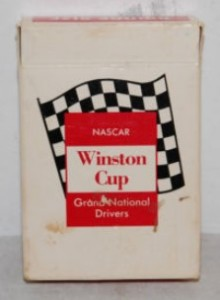 Nascar Winston Cup Grand National Drivers Playing Cards