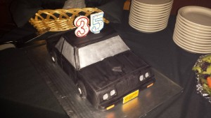 buick gn cake