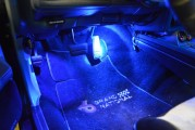 Extra Drivers Side Underdash Light + LED Bulb Upgrade