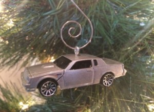 silver buick regal ornament
