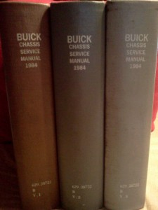1984 buick chassis service manual 1