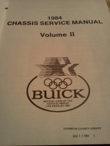 1984 buick chassis service manual 2