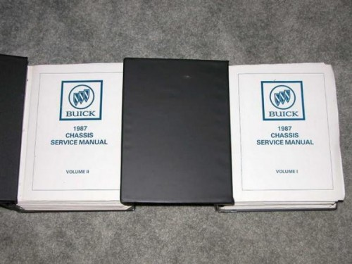 1987 Buick Chassis Service Manual