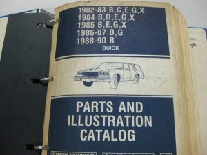 Gm buick parts catalog books 44w book fandeluxe Choice Image