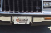 Front End Buick License Plates