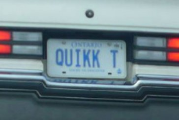 Buick Regal Vanity Plates