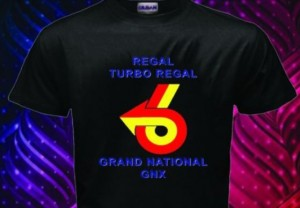 turbo regal power 6 logo shirt