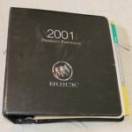2001 Buick Product Portfolio Dealership Manual 1
