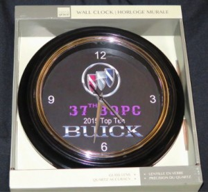 37th BOPC show top 10 clock