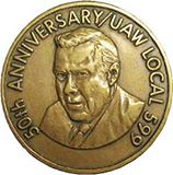 50th anniversary uaw local 599 coin