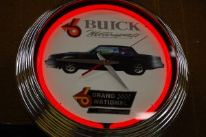 buick motorsport grand national clock