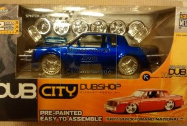 Dub City Dubshop Buick Grand National Model Kits (Current Values: Oct 2015)