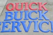 BIG Buick Wall Signs