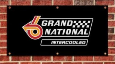 Buick Grand National Garage Banner
