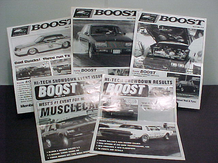 boost magazines BGNRA Newsletters